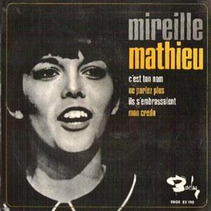 Mathieu, Mireille - ColumbiaSBGE 83190