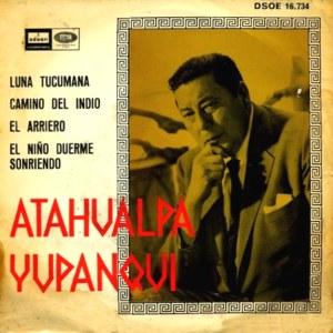 Yupanqui, Atahualpa - Odeon (EMI)DSOE 16.734