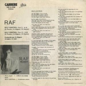 Raf - Epic (CBS)A-4338