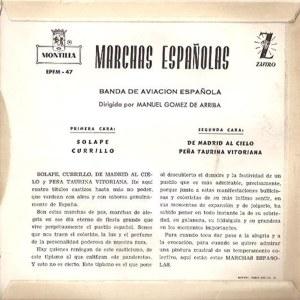 Banda De Aviación Española - Montilla (Zafiro)EPFM- 47