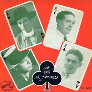 Los Ases Del Flamenco - La Voz De Su Amo (EMI)7EPL 13.237