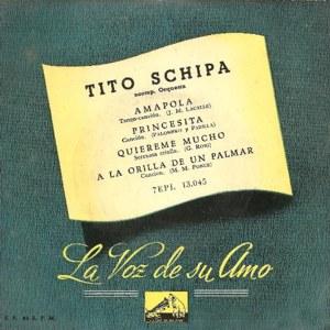 Schipa, Tito - La Voz De Su Amo (EMI)7EPL 13.045