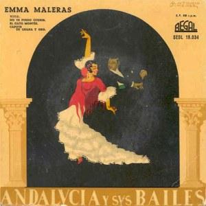 Maleras, Emma - Regal (EMI)SEDL 19.034