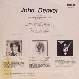 John Denver - RCAPB-1915
