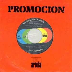 Wonder, Stevie - Ariola0144