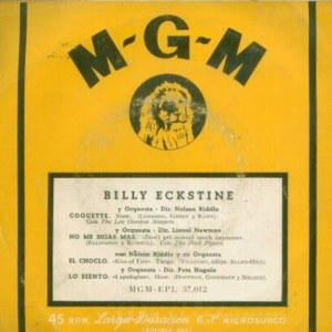 Eckstine, Billy - MGM EPL 37.012