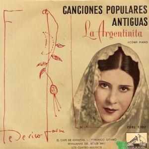 Argentinita, La - La Voz De Su Amo (EMI)7ERL 1.102