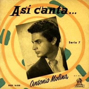 Molina, Antonio - Odeon (EMI)DSOE 16.058