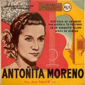 Moreno, Antoñita - RCA3-22073