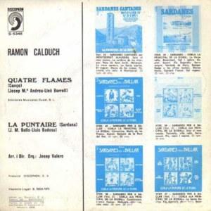 Ramón Calduch - DiscophonS-5348