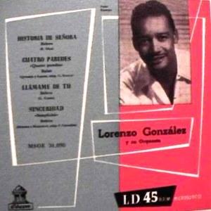 González, Lorenzo - Odeon (EMI)MSOE 31.098
