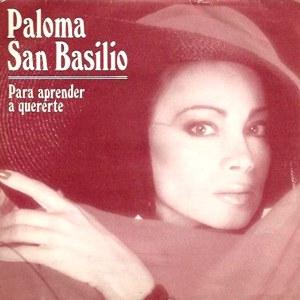 San Basilio, Paloma - Hispavox40 2058 7