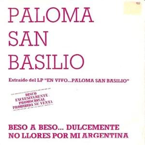 San Basilio, Paloma - HispavoxP-102