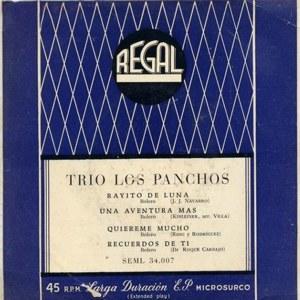 Panchos, Los - Regal (EMI)SEML 34.007
