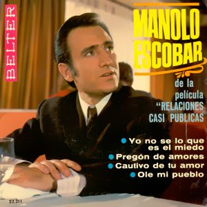 Escobar, Manolo - Belter52.211