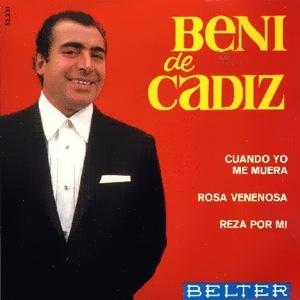 Cádiz, Beni De - Belter52.231