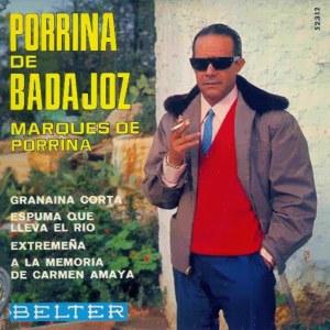 Badajoz, Porrina De