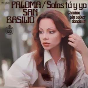 San Basilio, Paloma - Hispavox45-1370