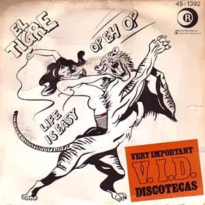 Tigre, El - Hispavox45-1392