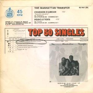 Manhattan Transfer, The - Hispavox45-1447
