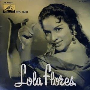 Flores, Lola - La Voz De Su Amo (EMI)7EPL 13.189