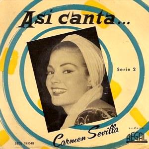 Sevilla, Carmen - Regal (EMI)SEDL 19.048