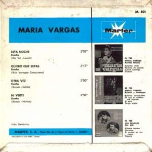 María Vargas - MarferM-801