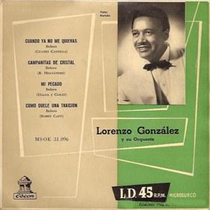González, Lorenzo - Odeon (EMI)MSOE 31.096