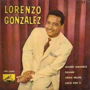 González, Lorenzo - La Voz De Su Amo (EMI)7EPL 13.664