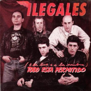 Ilegales, Los - Hispavox40 2289 7