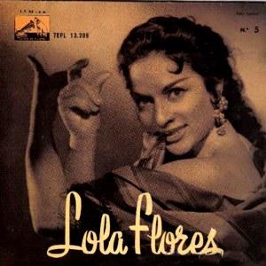 Flores, Lola - La Voz De Su Amo (EMI)7EPL 13.209