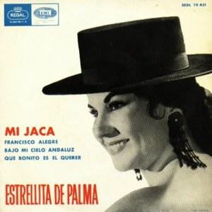 Palma, Estrellita De - Regal (EMI)SEDL 19.451