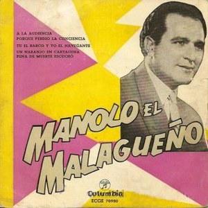 Malagueño, Manolo El - ColumbiaECGE 70980