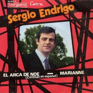 Sergio Endrigo - Vergara45.327-A