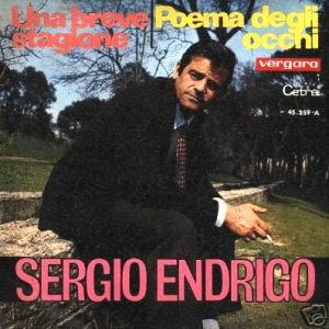 Sergio Endrigo - Vergara45.359-A