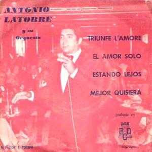 Latorre, Antonio - Discos BCDFM68-581