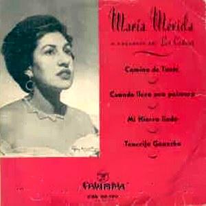 Mérida, María - ColumbiaCGE 60120