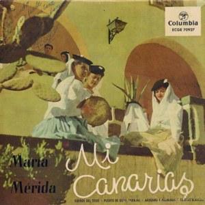 Mérida, María - ColumbiaECGE 70927