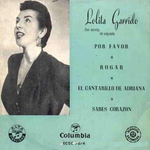 Garrido, Lolita - ColumbiaECGE 70741