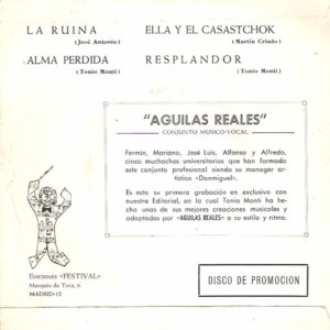 Aguilas Reales - Berta (Philips) FM68-138