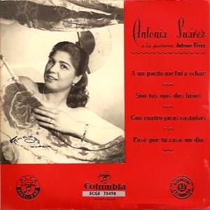 Suárez, Antonia - ColumbiaECGE 70498