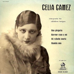 Gámez, Celia - Odeon (EMI)DSOE 16.260