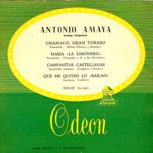 Amaya, Antonio - Odeon (EMI)DSOE 16.045