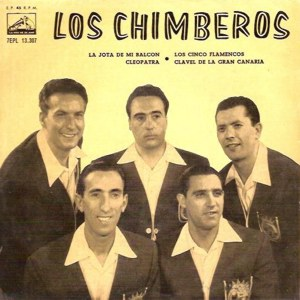 Chimberos, Los - La Voz De Su Amo (EMI)7EPL 13.307