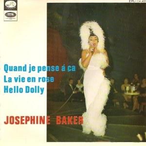 Baker, Josephine - La Voz De Su Amo (EMI)EPL 14.401