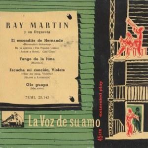 Martin, Ray - La Voz De Su Amo (EMI)7EML 28.143