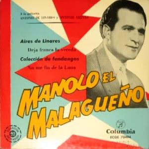 Malagueño, Manolo El - ColumbiaECGE 70494