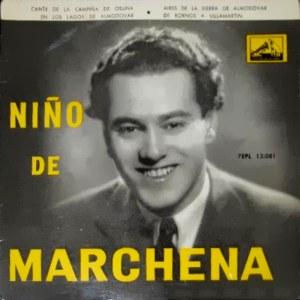 Marchena, Pepe - La Voz De Su Amo (EMI)7EPL 13.081