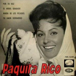 Rico, Paquita - La Voz De Su Amo (EMI)7EPL 14.129