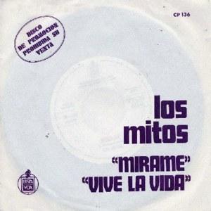 Mitos, Los - HispavoxCP-136